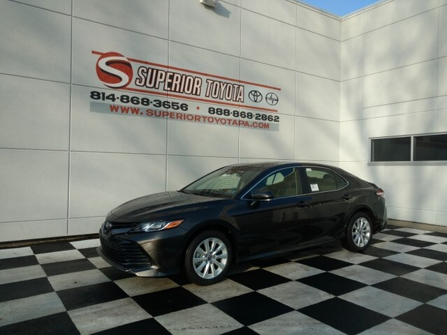 New 2018 Toyota Camry LE Sedan in Erie PA