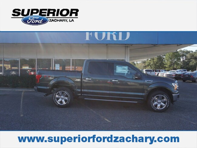 new 2018 Ford F-150 XLT 4WD 5.5 Box Truck SuperCrew Cab For Sale/Lease Zachary LA