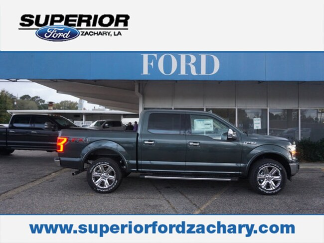 new 2018 Ford F-150 Lariat 4WD 5.5 Box Truck SuperCrew Cab For Sale/Lease Zachary LA