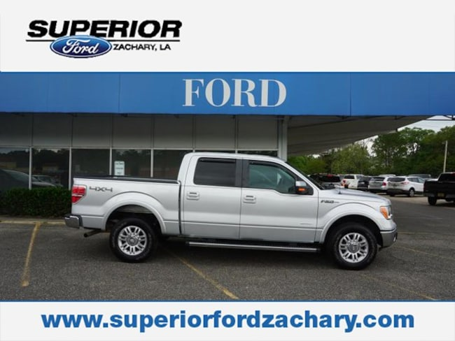 used 2013 Ford F-150 Lariat 4WD 145WB Truck SuperCrew Cab for sale Zachary, LA