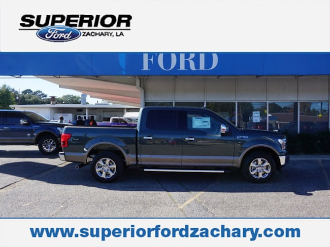 new 2018 Ford F-150 Lariat 2WD 5.5 Box Truck SuperCrew Cab For Sale/Lease Zachary LA