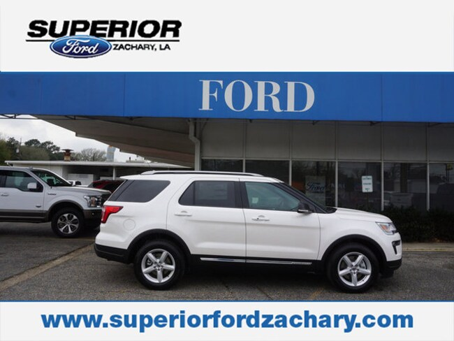 new 2019 Ford Explorer XLT FWD SUV For Sale/Lease Zachary LA
