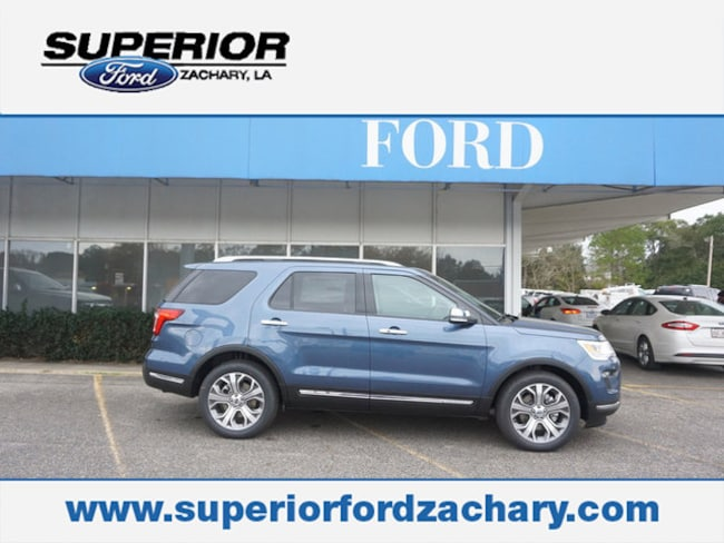 new 2019 Ford Explorer Limited FWD SUV For Sale/Lease Zachary LA