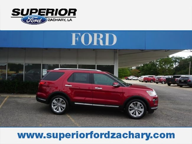 new 2018 Ford Explorer Limited FWD SUV For Sale/Lease Zachary LA