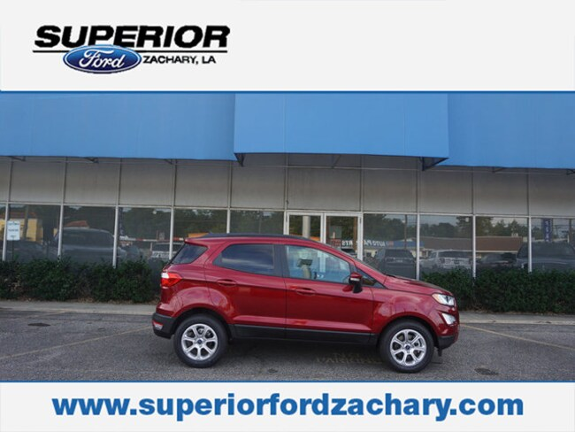 new 2018 Ford EcoSport SE FWD SUV For Sale/Lease Zachary LA
