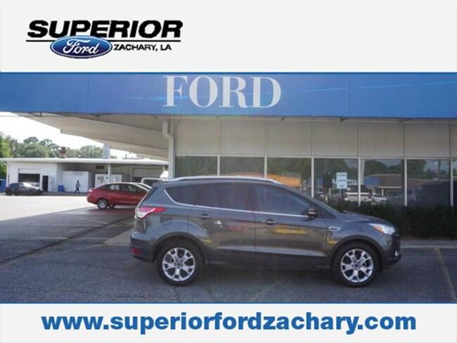 used 2016 Ford Escape Titanium FWD SUV for sale Zachary, LA