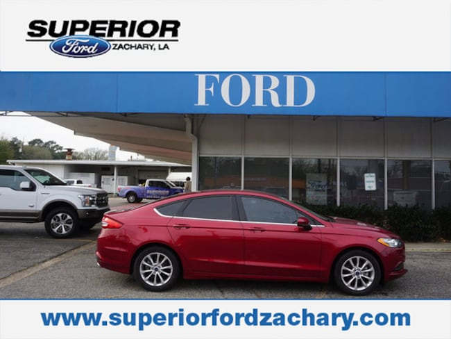 used 2017 Ford Fusion SE Sedan for sale Zachary, LA