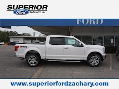 2018 Ford F-150 Lariat 4WD 5.5 Box Truck SuperCrew Cab 1FTEW1EG4JKC76543 for sale in Zachary, LA