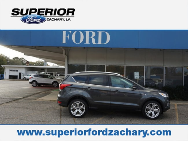 new 2019 Ford Escape Titanium FWD SUV For Sale/Lease Zachary LA