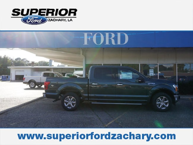 new 2018 Ford F-150 XLT 2WD 5.5 Box Truck SuperCrew Cab For Sale/Lease Zachary LA