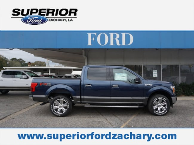 new 2019 Ford F-150 XLT 4WD 5.5 Box Truck SuperCrew Cab For Sale/Lease Zachary LA