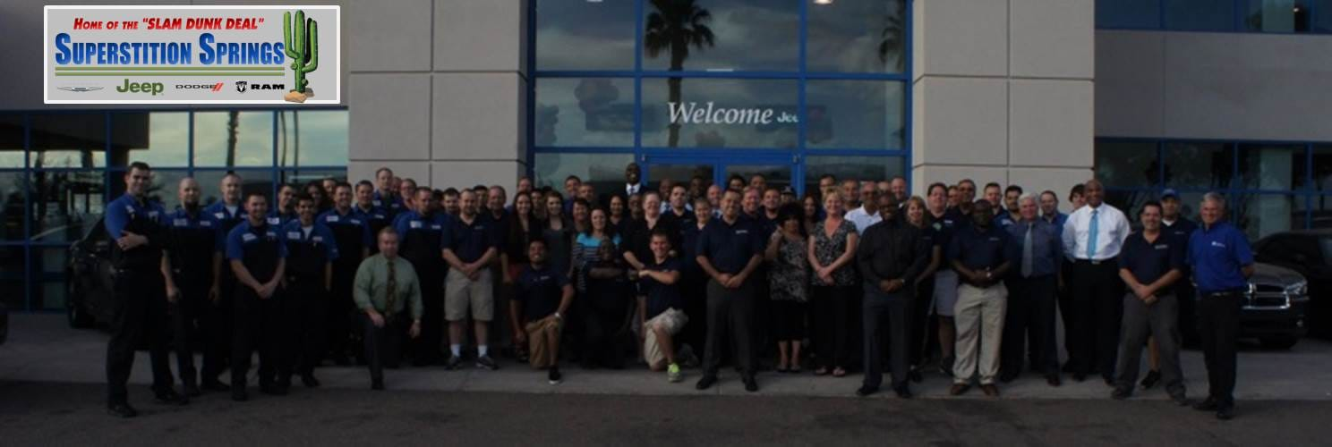 Superstition Springs Chrysler Always Maintains Competitive New And  Pre Owned Inventories Of Chrysler, Dodge And Jeep Vehicles. Staffed With  Experience Sales ...