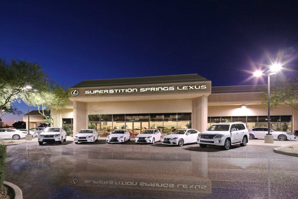 Welcome To Superstition Springs Lexus