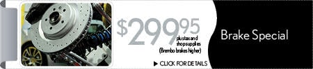 Brake Special Service Coupon, Superstition Springs Lexus