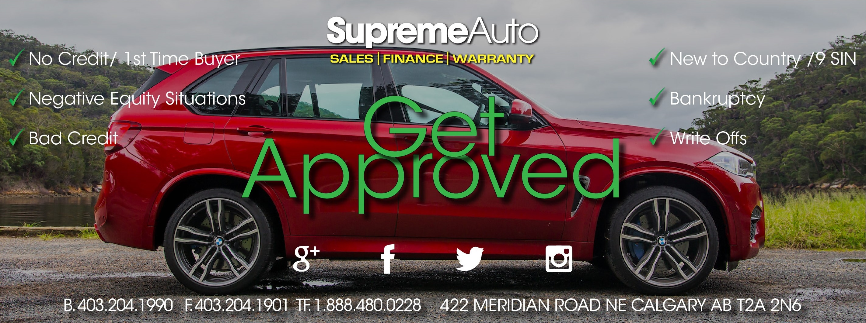 Supreme Auto Sales Used Car Dealership In Calgary Ab
