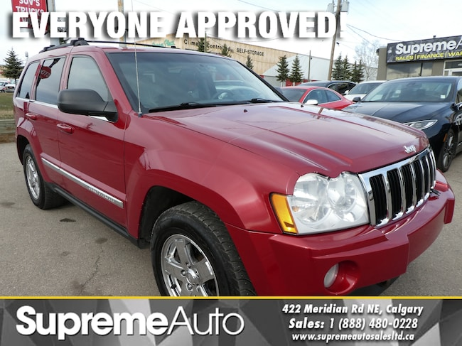 2006 Jeep Grand Cherokee LIMITED 5.7L HEMI/H.SEATS/ROOF SUV