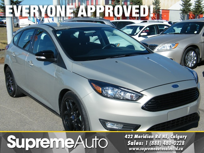 2016 Ford Focus SE B.CAM/EASY FINANCING AVAILABLE Hatchback