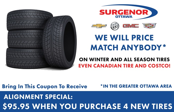 Surgenor Gm Spring 2015 Tire Storage Specials