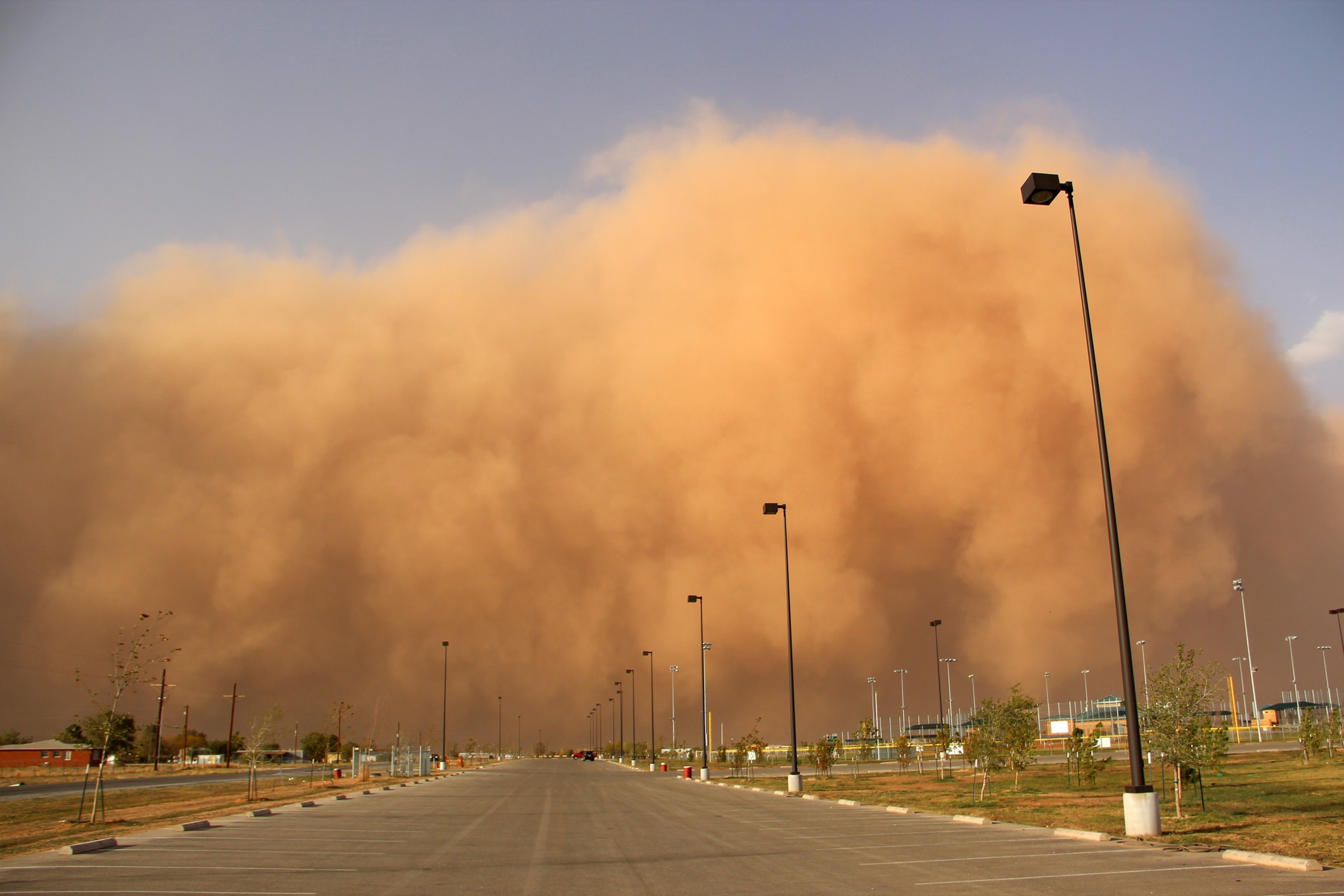 driving in a haboob