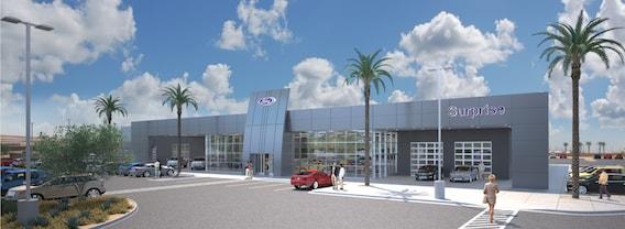 Ford Dealership Phoenix Az >> Ford Dealership About Surprise Ford Surprise Glendale