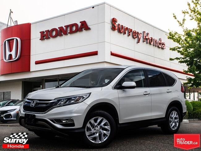 2016 Honda CR-V SE AWD - Honda Certified 7 YR/160K Warranty SUV