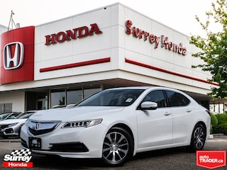 2015 Acura TLX Tech Pkg Navigation 4 cylinder Sedan