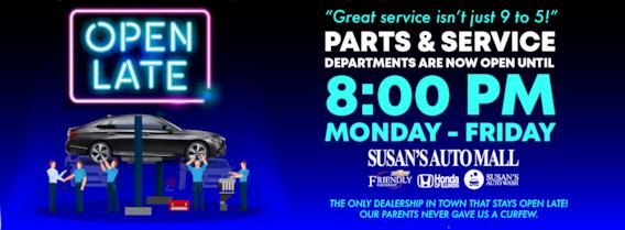 Friendly Chevrolet Springfield Il >> Susan S Auto Mall Springfield Illinois New Used Honda