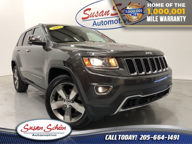 Used 2015 Jeep Grand Cherokee Limited 4x4 SUV for sale in Pelham, AL