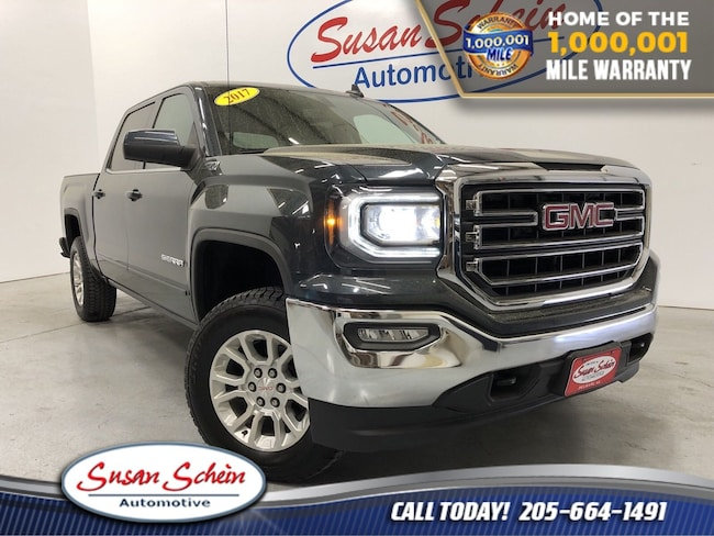 Used 2017 GMC Sierra 1500 SLE Truck Crew Cab for sale in Pelham, AL