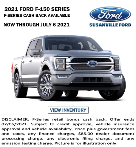 May 2021 New Ford F-150 Special
