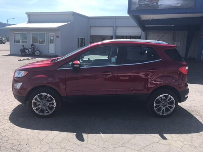 New 2019 Ford EcoSport Titanium Titanium 4WD For Sale /Lease Susanville, CA