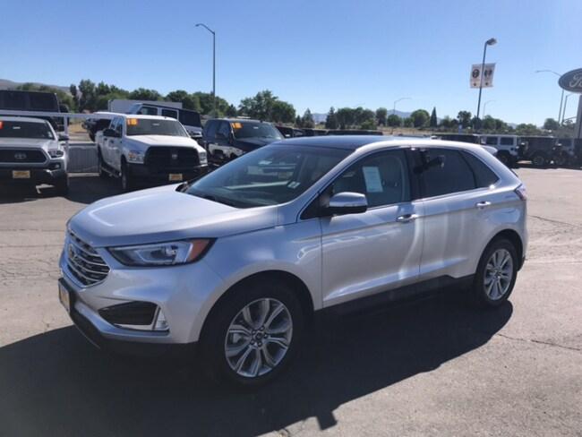 New 2019 Ford Edge Titanium Titanium FWD For Sale /Lease Susanville, CA