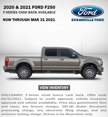 January 2021 New Ford F-250 Special