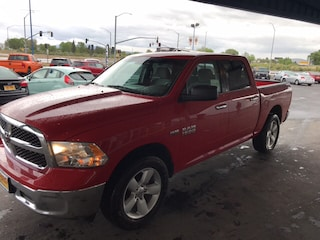 Certified Pre Owned 2017 Ram 1500 SLT Crew Cab Pickup in Susanville, near Reno NV