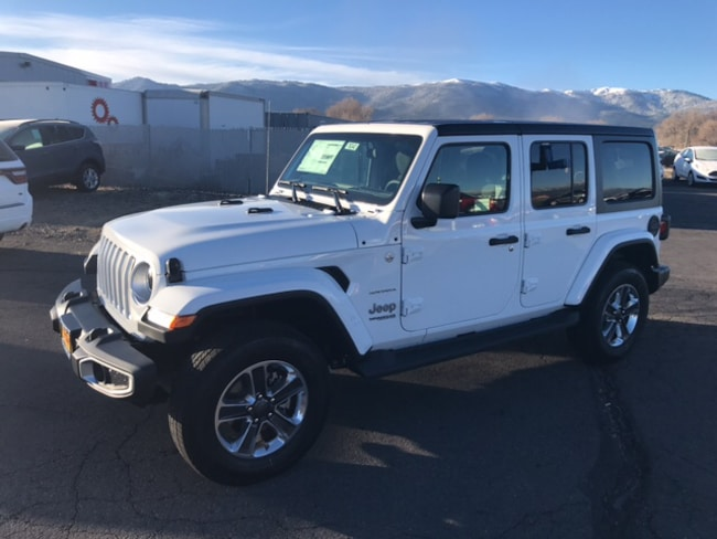 New 2019 Jeep Wrangler UNLIMITED SAHARA 4X4 Sport Utility For Sale Susanville, CA