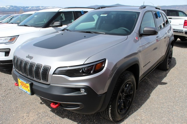 New 2019 Jeep Cherokee TRAILHAWK ELITE 4X4 For Sale/Lease