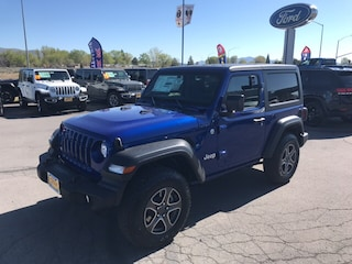New 2019 Jeep Wrangler SPORT S 4X4 Sport Utility For Sale Susanville CA