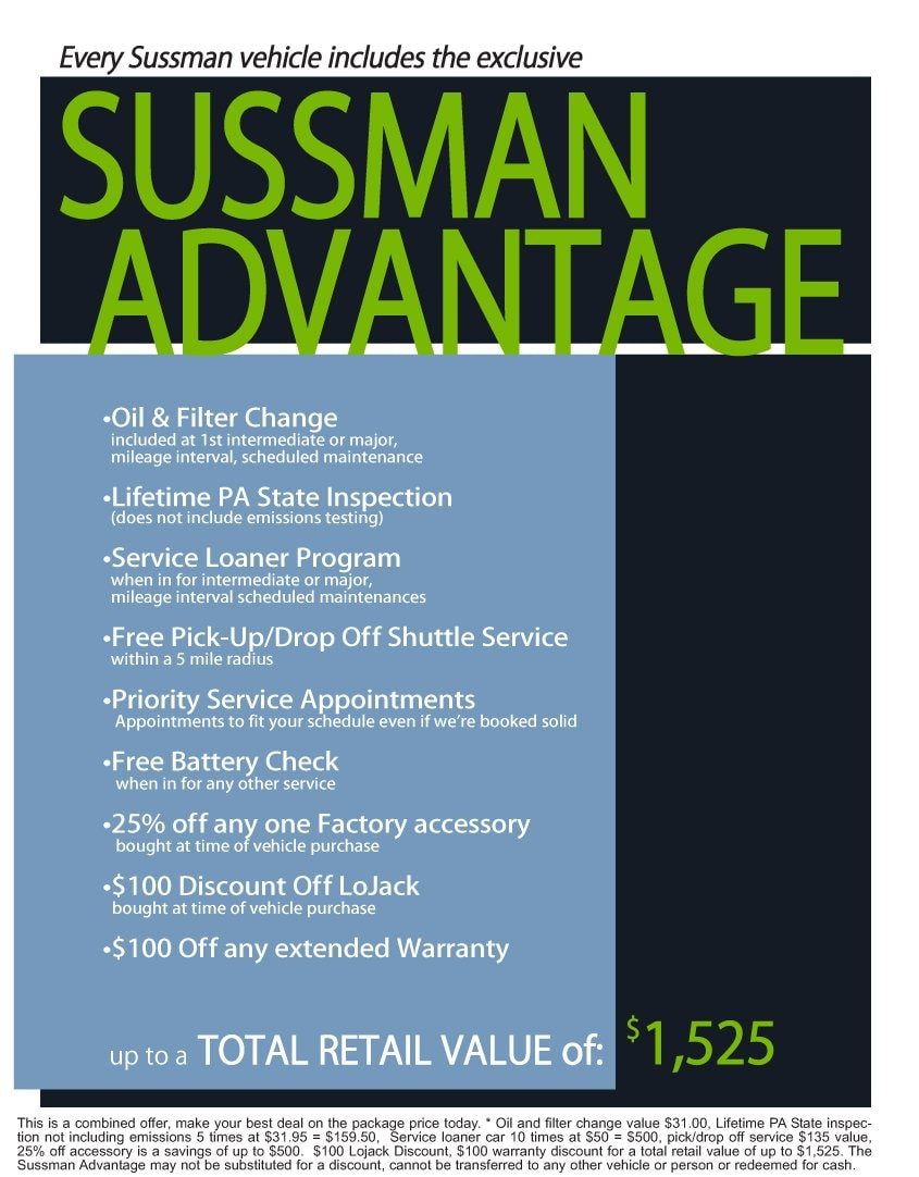 Sussman Advantage Sussman Acura New Acura Dealership In - Acura dealers in pa