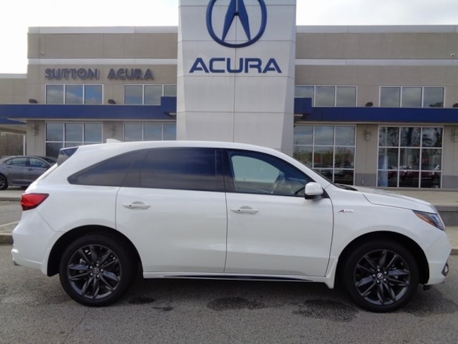 New 2019 Acura MDX SH-AWD with A-Spec Package SUV Macon, GA