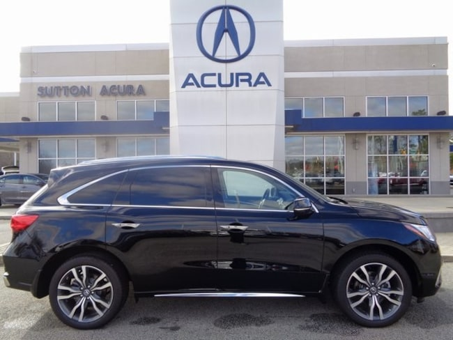 New 2019 Acura MDX SH-AWD with Advance Package SUV Macon, GA