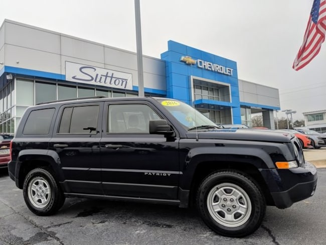 Used 2016 Jeep Patriot Sport SUV Macon, GA