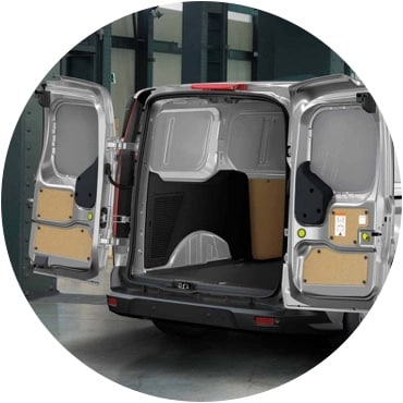 Ford Transit Connect cargo space