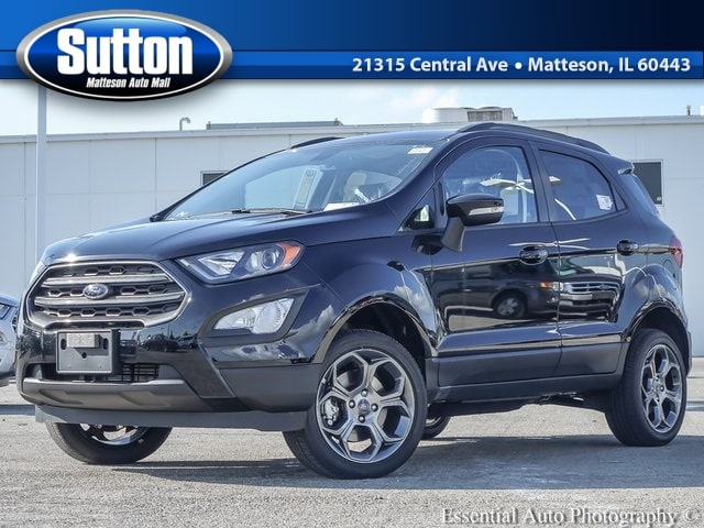New 2018 Ford EcoSport SES SUV for sale/lease in Matteson, IL