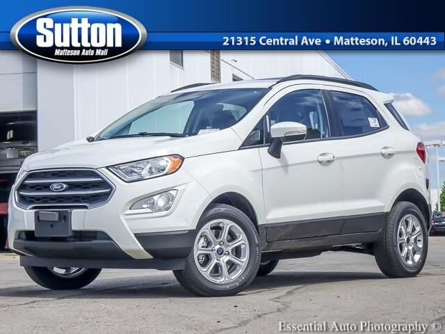 New 2019 Ford EcoSport SE SUV for sale/lease in Matteson, IL