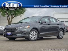 2020 Ford Fusion S Sedan 3FA6P0G71LR105472