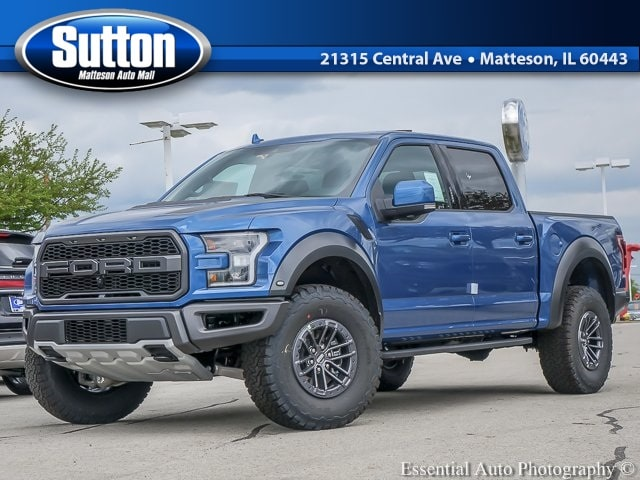 New 2019 Ford F-150 Raptor Truck for sale/lease in Matteson, IL