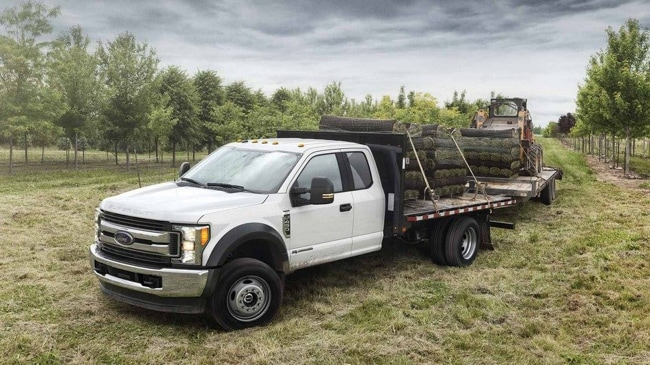 The Ford F-Series Chassis Cab has the strength needed for any job