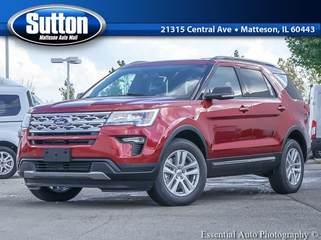 New 2019 Ford Explorer XLT SUV for sale/lease in Matteson, IL