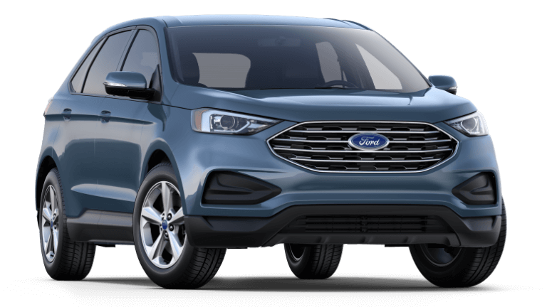 2019 Ford Edge SE in blue color