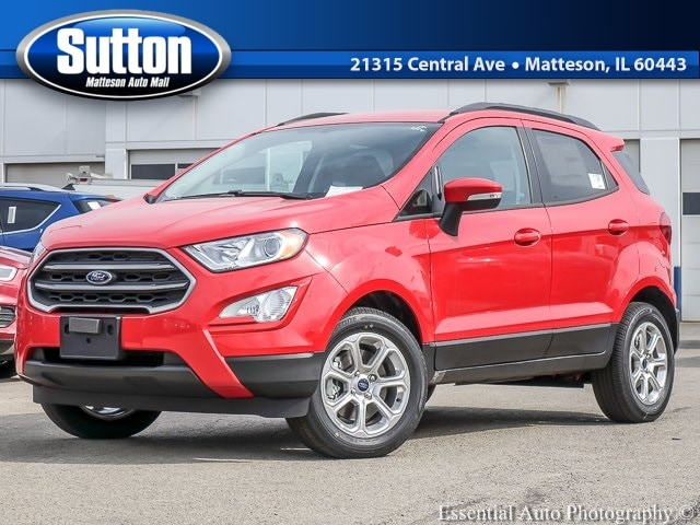 New 2019 Ford EcoSport SE SUV for sale/lease in Matteson, IL